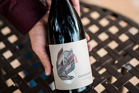 Dovecote Redtail wine